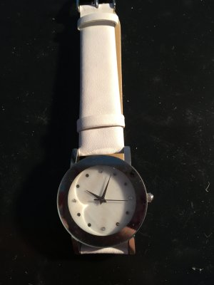 Watch silver-colored-white