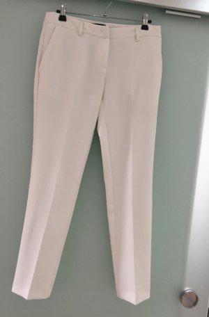 Weiße elegante Bundfaltenhose, Fracomina