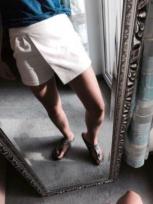 Weiße elegante Zara Basic Short Gr.36