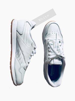 Weiße ElfenbeinTon Sport turn Schuhe leicht weich neu ungetragen schüren | Reebok | 38