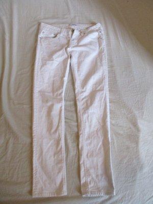 Weiße enge Jeans von Meltin'Pot