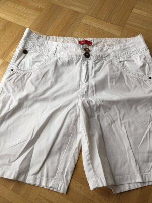 Weiße Esprit Short Beine zum krempeln