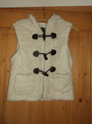 Tally Weijl Fur vest white