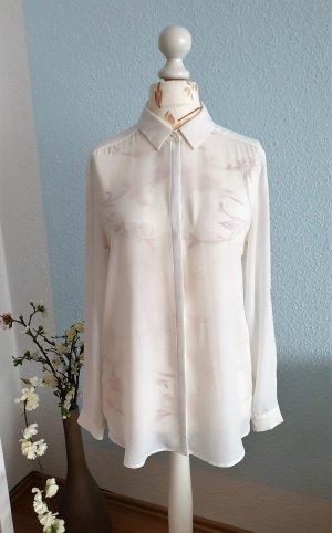 weiße, fließende Basic Bluse von Esprit
