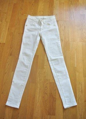 weiße Fornarina Jeans in Größe 28