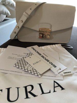 Weiße Furla Handtasche