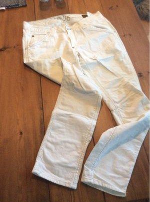 Weiße G-Star Jeans