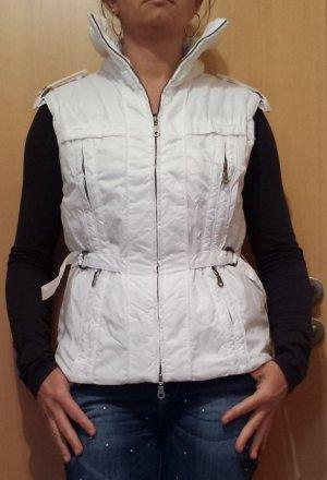 Amisu Gewatteerd vest wit Polyester