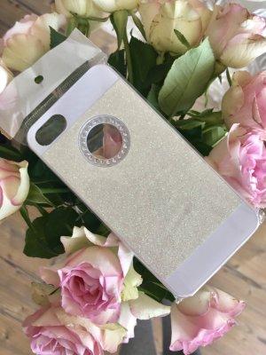 Weiße Glitzerhandyhülle IPhone 7