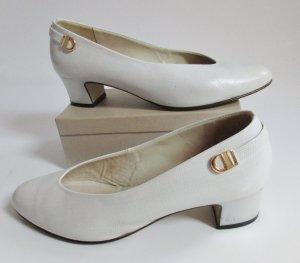 Högl Loafers lichtgrijs-wit Leer