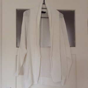 Liebeskind Knitted Cardigan white cotton