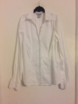 Weiße H&M Bluse in 36