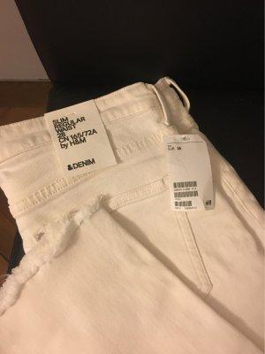 Weiße H&M Jeans