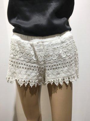 Weiße H&M Shorts