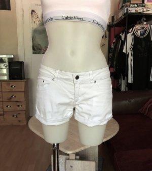 Weiße H&M Shorts S