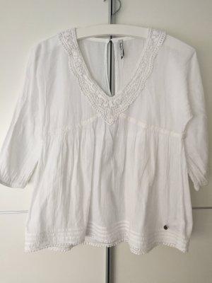 Weiße Hänger-Bluse von Pepe Jeans