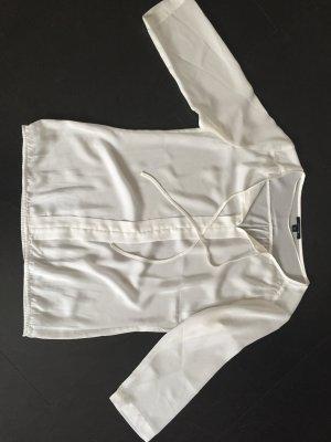 Weiße halbarm Bluse comma Größe 36