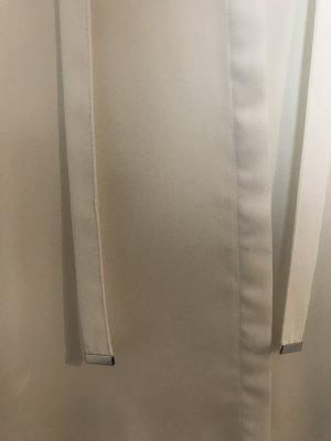 weiße Hallhuber Bluse mit Schleife