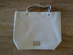 weiße Handtasche von Christian Lacroix