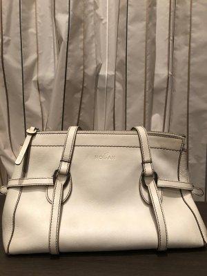 weiße Handtasche von Hogan