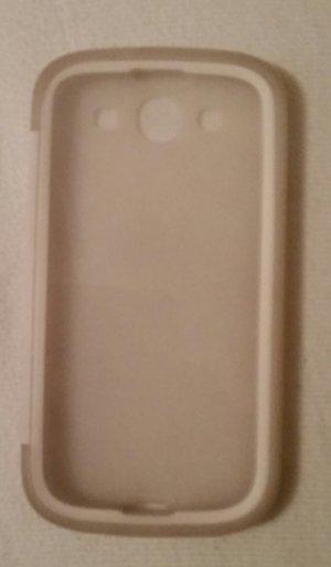 Weiße Handyhülle für Samsung Galaxy S3