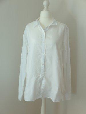 Weiße Hemdbluse, neuwertig