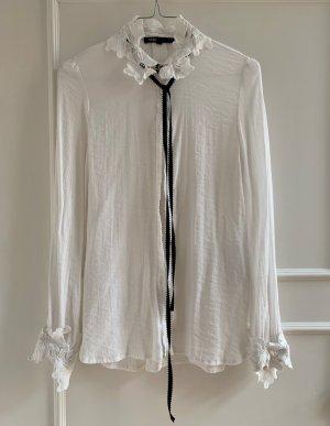 Weiße Hemdbluse von MAJE