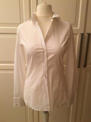 Weiße Hemdbluse von Sisley
