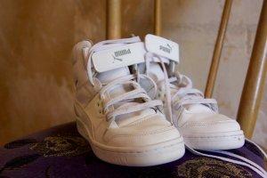 weiße High Top Sneaker von Puma
