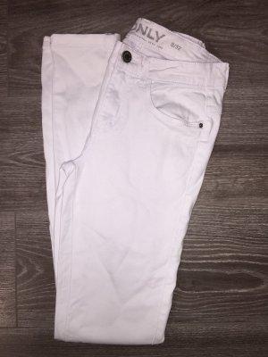 Weiße High-Waist-Hose von Only