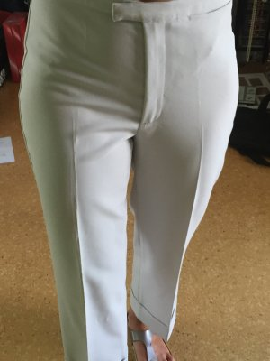 Weiße Highwaist Hose, Gr. 36