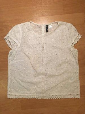 Weiße Hippie-Bluse / Top von H&M