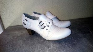 Graceland High-Front Pumps white imitation leather