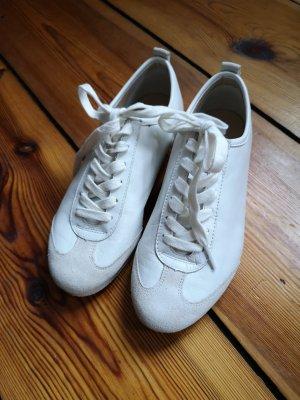 Weisse hochwertige Ledersneaker von Flipflop