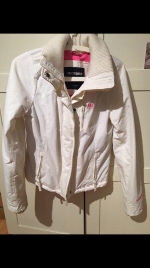 Weiße Hollister Jacke