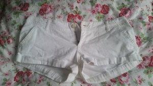 Weiße Hollister Shorts