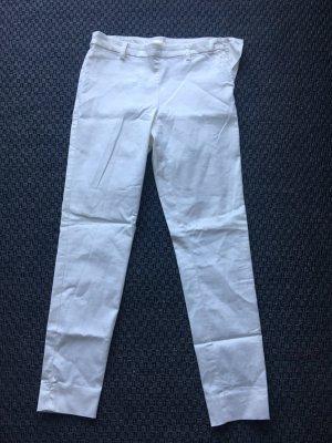 H&M Pantalone da abito bianco