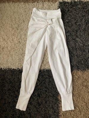 Pantalón tobillero blanco