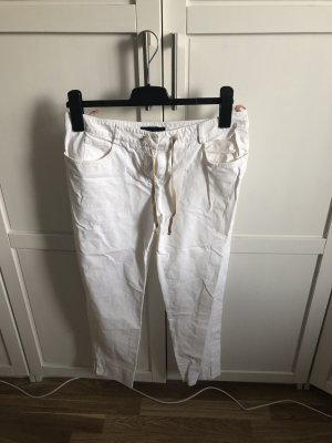 Piazza Sempione 3/4 Length Trousers white