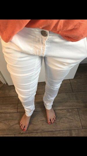 Buena Vista Boyfriend Trousers white