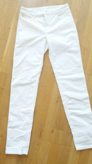 Cambio Low-Rise Trousers white