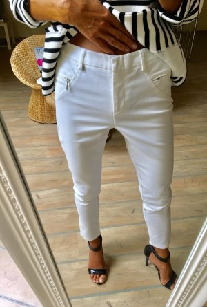 Ashley Brooke Pantalone a sigaretta bianco