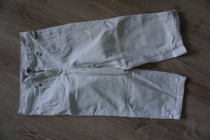 s.Oliver 3/4 Length Trousers white cotton