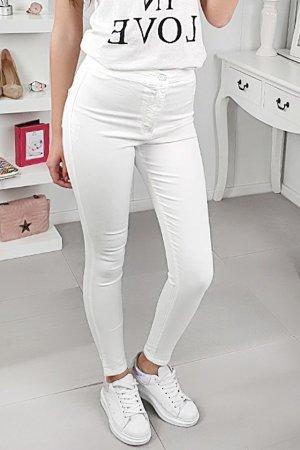 FB Sister Pantalón de cintura alta blanco