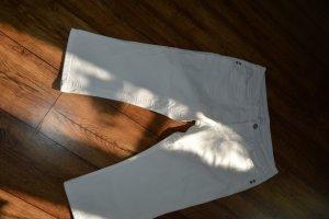 weiße Hose Leinenstriktur Gr.40 S. Oliver