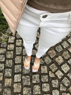 Weiße Hose von Bershka