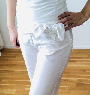 Billabong pantalón de cintura baja blanco
