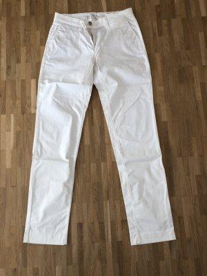 Weiße Hose von Cambio. Modell Kerry in Größe 36.