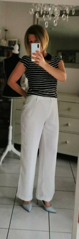 Christian Berg Jersey Pants white