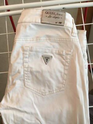 Guess Low-Rise Trousers white